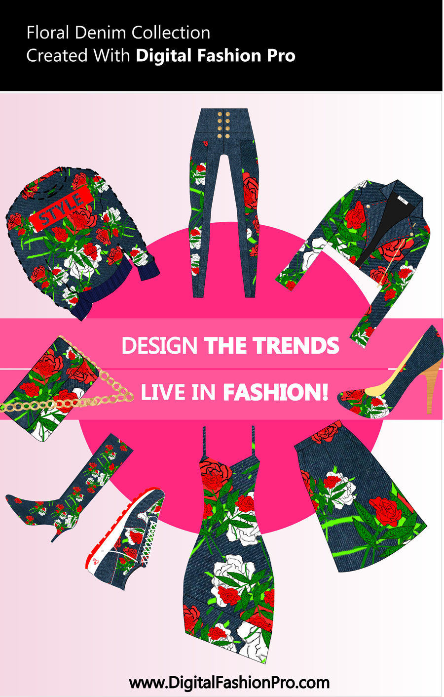 Fashion Magazine - Digital Fashion Pro - Fashion Design Software - Cover