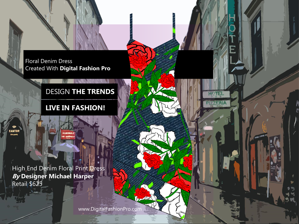Fashion Magazine - Fashion Designer - Fashion Design Software - Digital Fashion Pro - Designer Dress