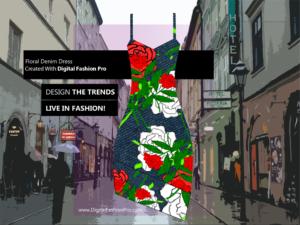 Fashion Magazine - Styles Created With Digital Fashion Pro - Designer Dress