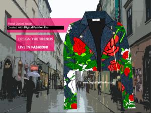 Fashion Magazine - Styles Created With Digital Fashion Pro - Designer Jackets