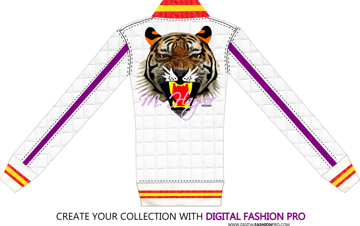 Fashion Design Software - Tiger Collection by M Harper - a - fashion sketch - gallery