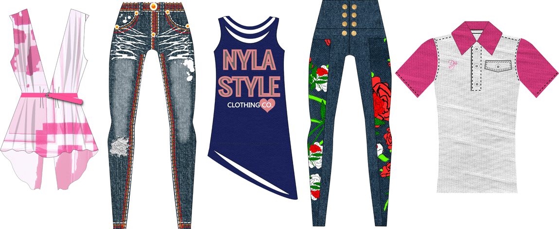Clothing Design Help Bring Your Fashion Style To Life Design Your Own Clothing Line Startmyline Com